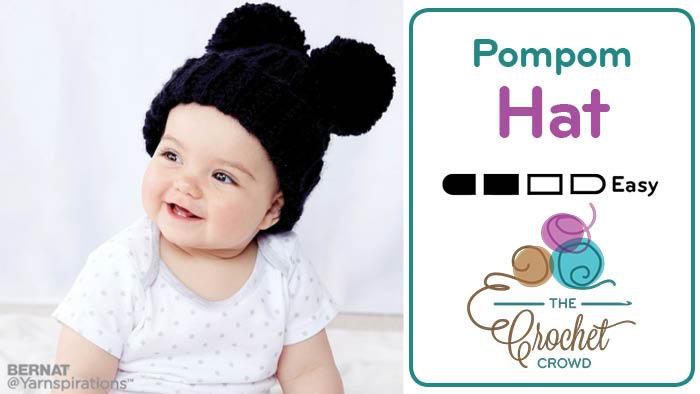 Crochet Adorable Hat + Tutorial