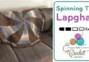 Crochet 🌀 Spinning Top Lapghan + Tutorial