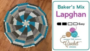 Crochet Baker's Mix Lapghan