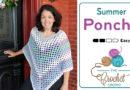 Crochet Summer Poncho Pattern + Tutorial