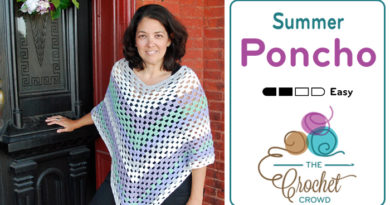 Crochet Summer Poncho Pattern + Tutorial