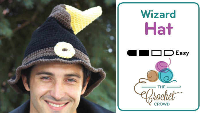 Crochet Wizard Hat