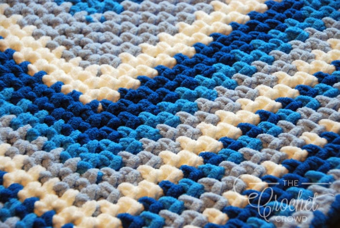 Crochet Quick & Easy Baby Blanket by Jeanne Steinhilber