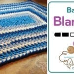 Crochet a Quick & Easy 🐥  Baby Blanket + Tutorial