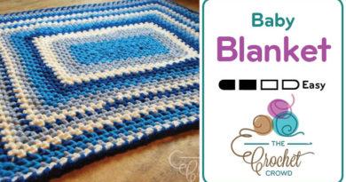 Crochet a Quick & Easy 🐥  Baby Blanket + Tutorial