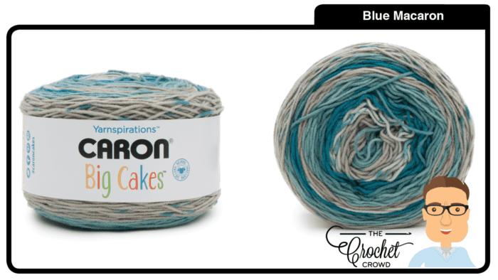 Caron Big Cakes - Blue Macaron