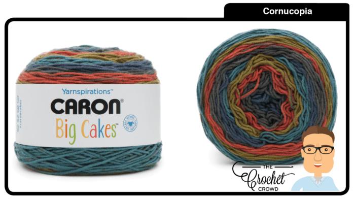 Caron Big Cakes - Cornucopia