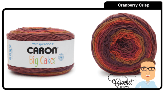 Caron Big Cakes - Cranberry Crisp