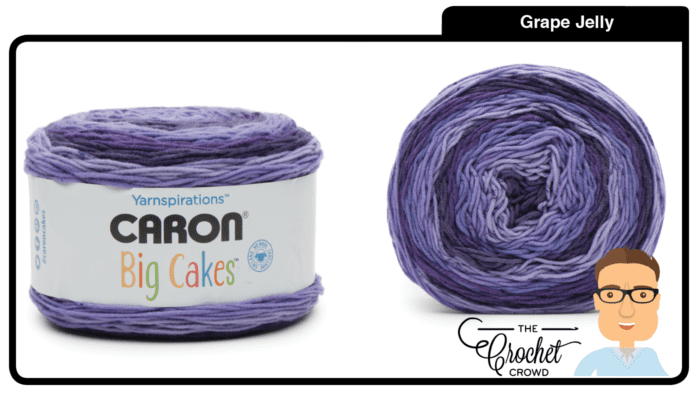 Caron Big Cakes - Grape Jelly
