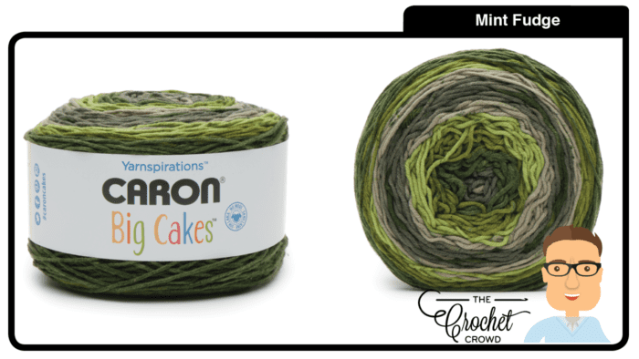 Caron Big Cakes - Mint Fudge