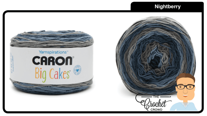 Caron Big Cakes - Nightberry