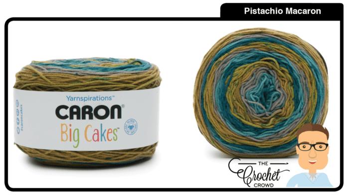 Caron Big Cakes - Pistachio Macaron