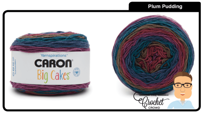 Caron Big Cakes - Plum Pudding