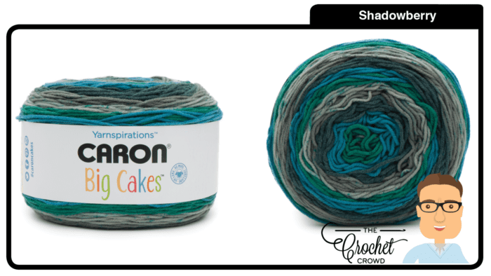 Caron Big Cakes - Shadowberry
