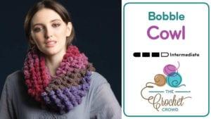 Crochet Bobbles Cowl
