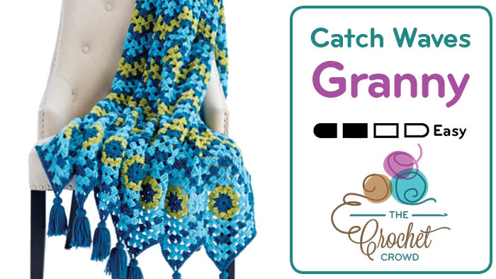 Crochet Cathy A Wave Granny