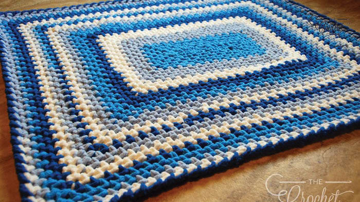 Crochet a Quick & Easy Baby Blanket Pattern