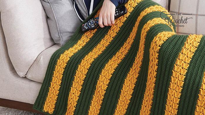 Crochet School Colours Blanket