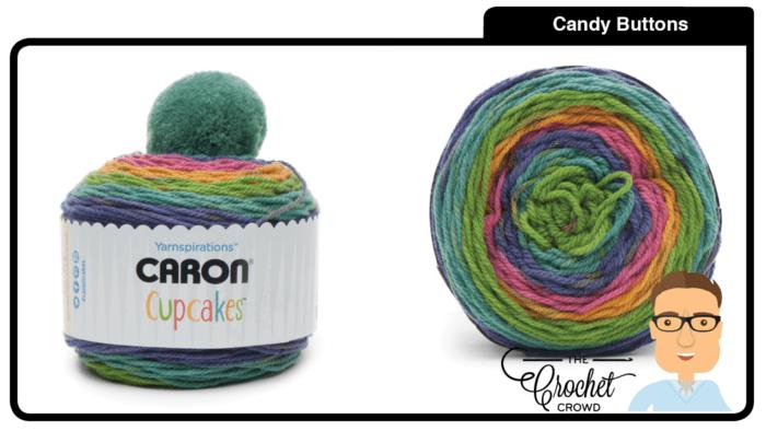 Caron Cupcakes - Candy Buttons