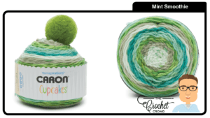 Caron Cupcakes - Mint Smoothie