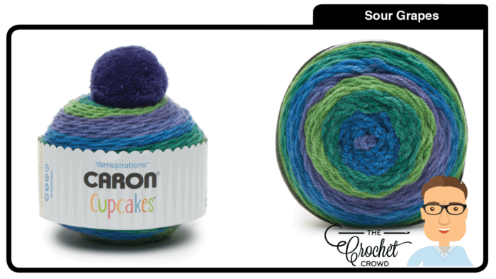 Caron Cupcakes - Sour Grapes