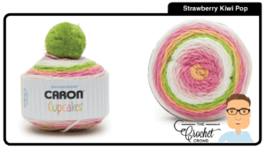 Caron Cupcakes - Strawberry Kiwi Pop