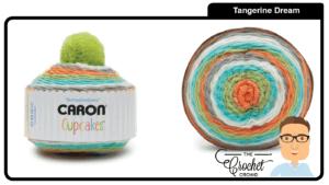 Caron Cupcakes - Tangerine Dream