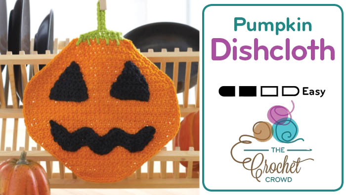 Crochet Pumpkin Dishcloth Pattern