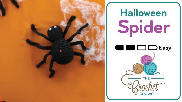 Crochet Halloween Spider