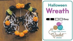 Crochet Halloween Wreath