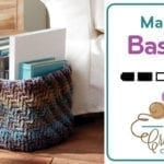 Crochet Marled Basket