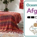 Crochet Boho Ocean Waves Afghan + Tutorial