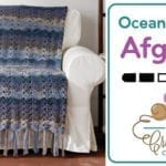 Crochet 🌊  Ocean Waves Afghan + Tutorial