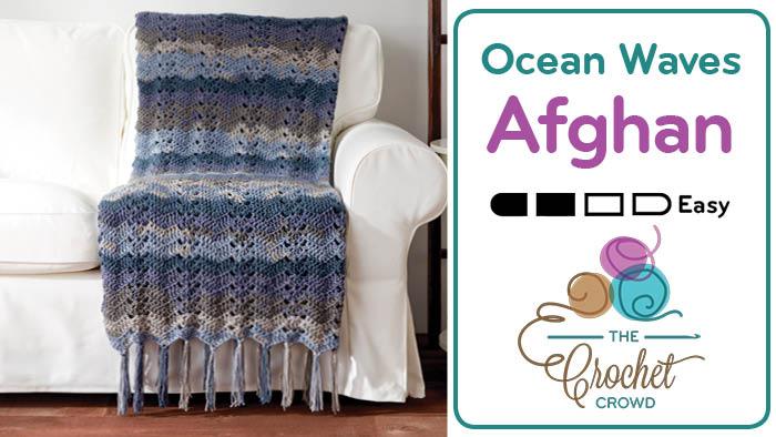 Crochet Ocean Waves Afghan Pattern