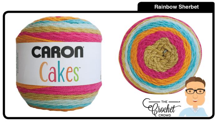Caron Cakes Rainbow Sherbet