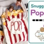 Crochet Popcorn Box Snuggle Sack + Tutorial