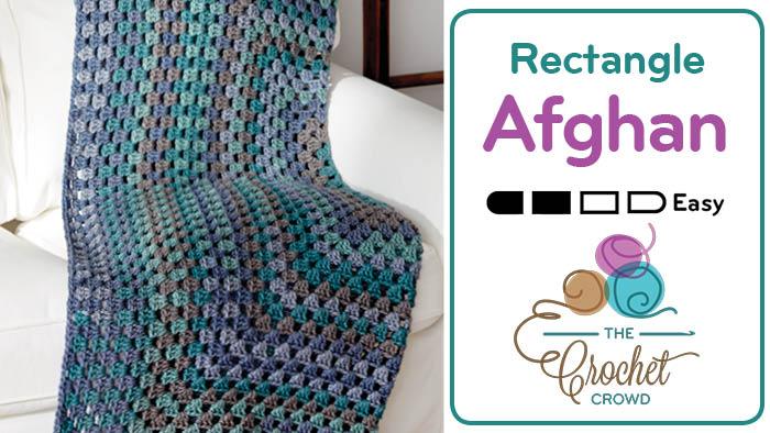 Crochet Rectangular Granny Afghan
