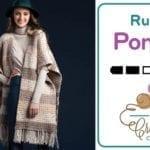 Crochet Ruana Poncho + Tutorial