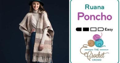 Crochet Ruana Poncho