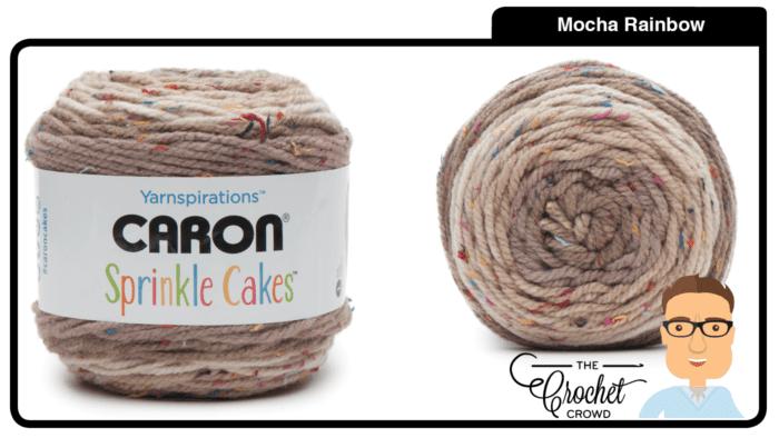 Caron Sprinkle Cakes - Rainbow Mocha