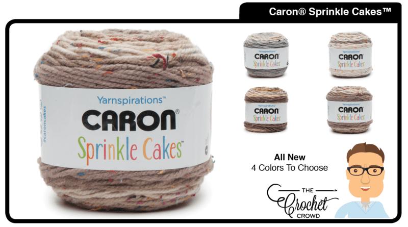 Caron Sprinkle Cakes Yarn