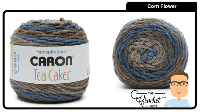 Caron Tea Cakes - Corn Flower
