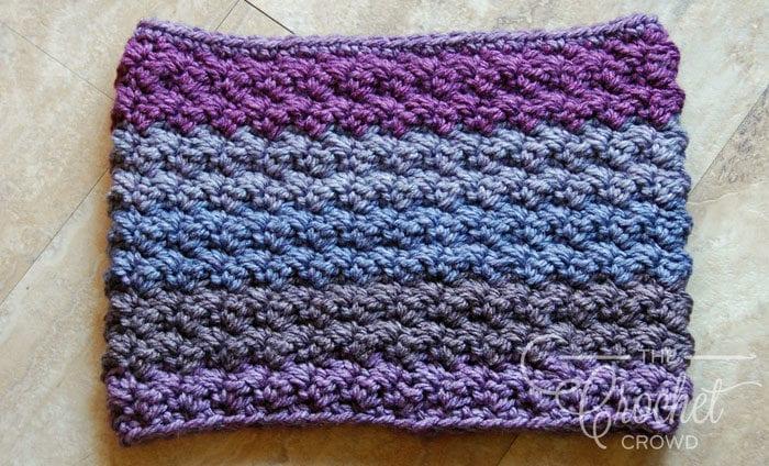 Crochet Winterberry Cowl Neckwarmer by Jeanne Steinhilber