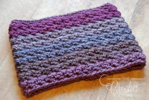 Crochet Winterberry Cowl Neckwarmer by Jeanne Steinhilber