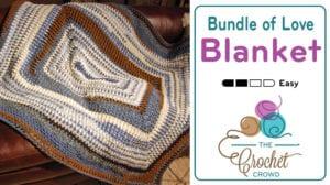 Crochet Bundle of Love Blanket by Jeanne Steinhilber