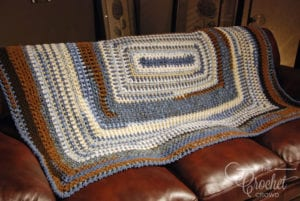 Crochet Bundle of Love Blanket by Jeanne Steinhilber