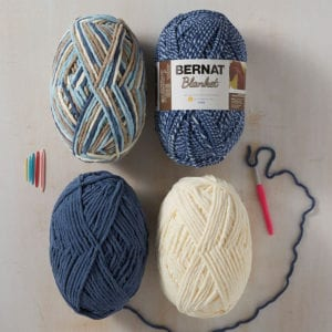 Mystery Crochet Along Yarn Info