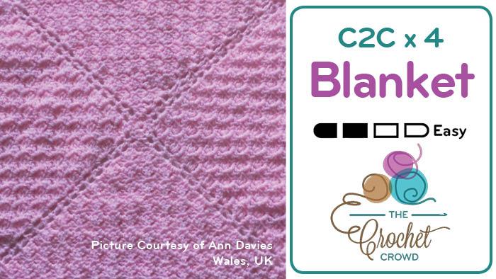 Corner to Corner x 4 Blankets
