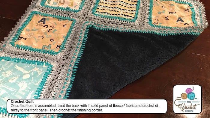 Crochet Baby Quilt