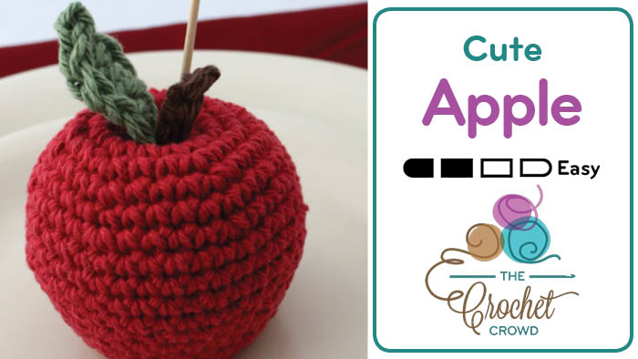 Crochet Cute Apple